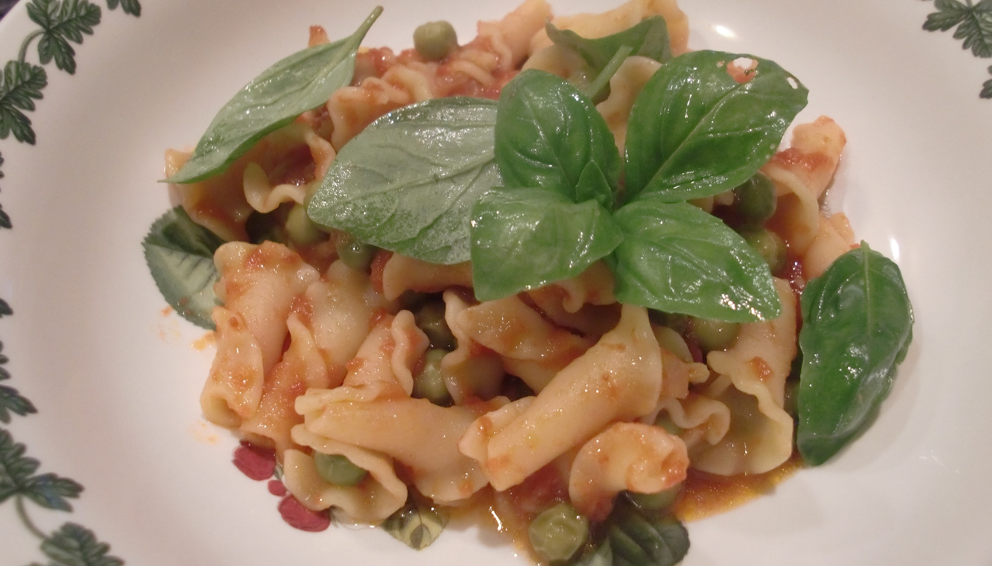 Pasta with Peas Recipe