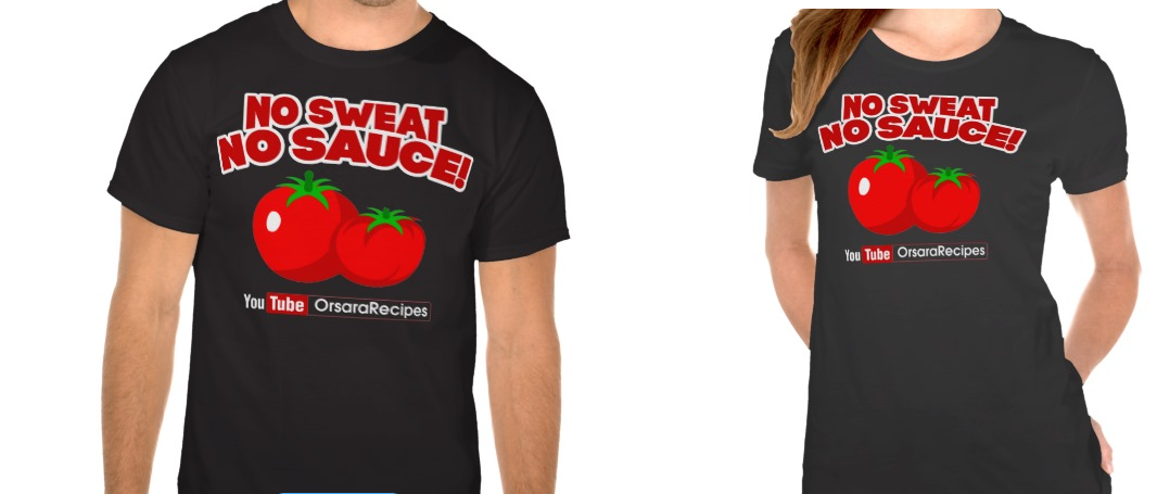New Orsara Recipes Shirts!