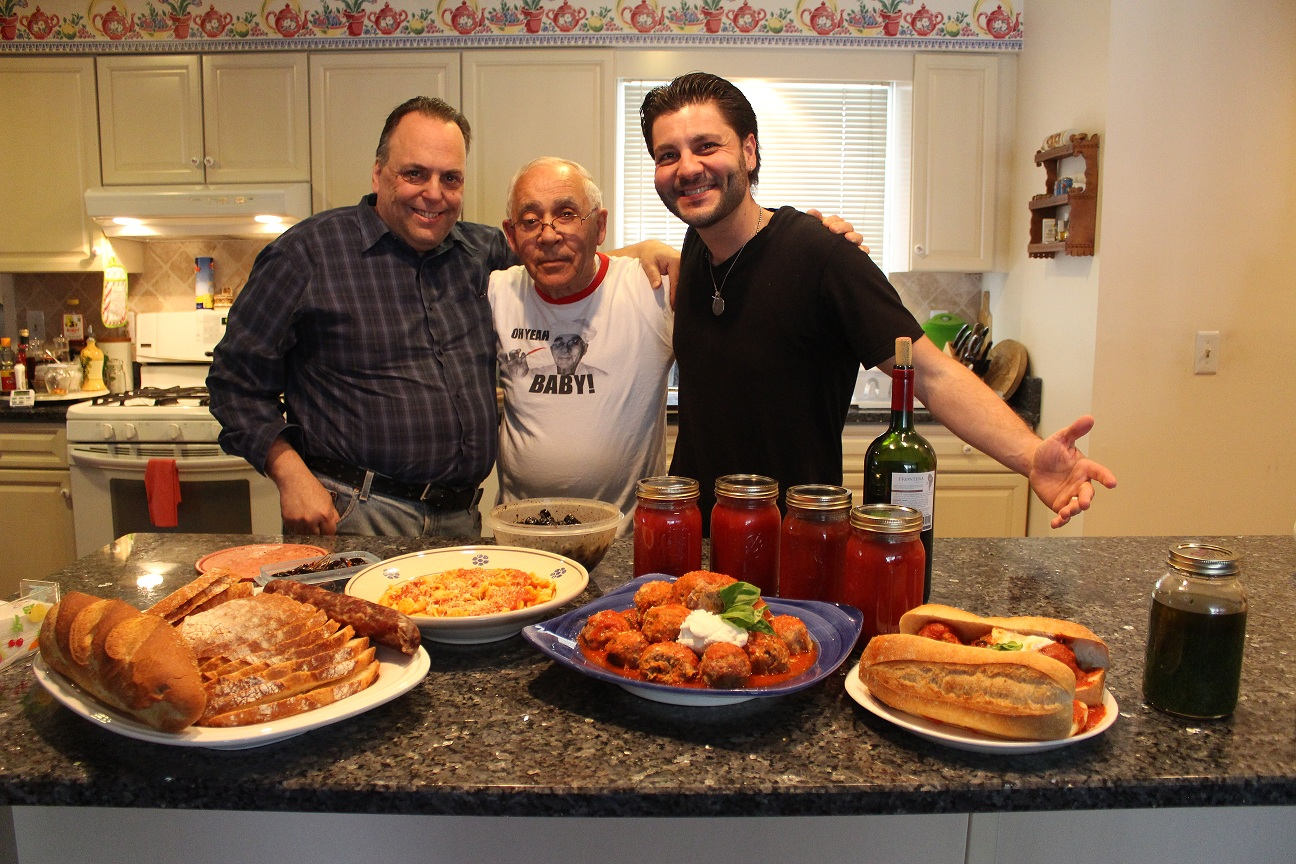 Chef Pasquale and Johnny Meatballs Have A Ball