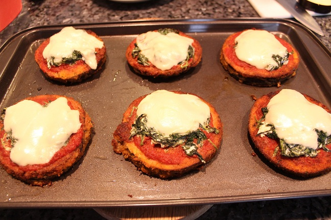 Vegetarian Eggplant Pizza