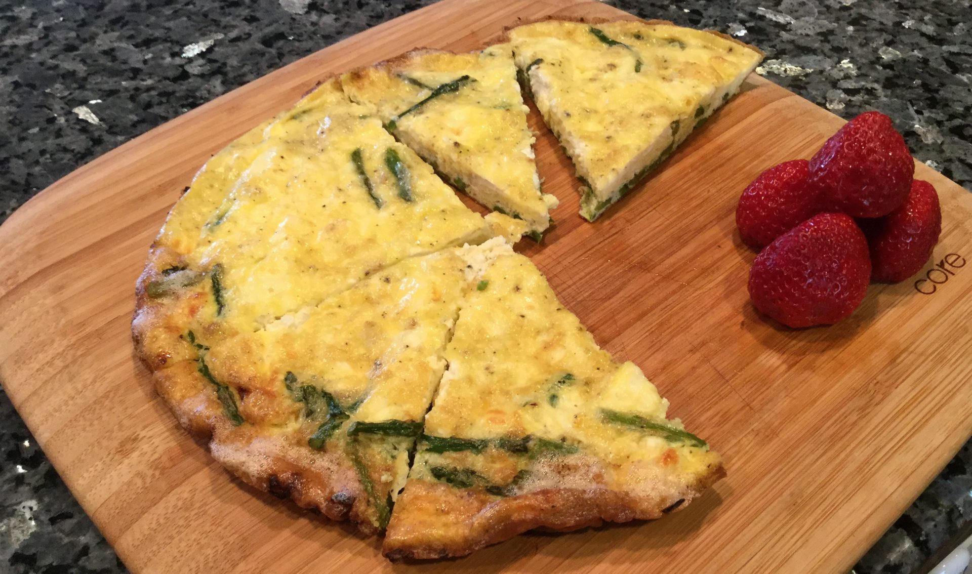 Asparagus and Goat Cheese Frittata Recipe