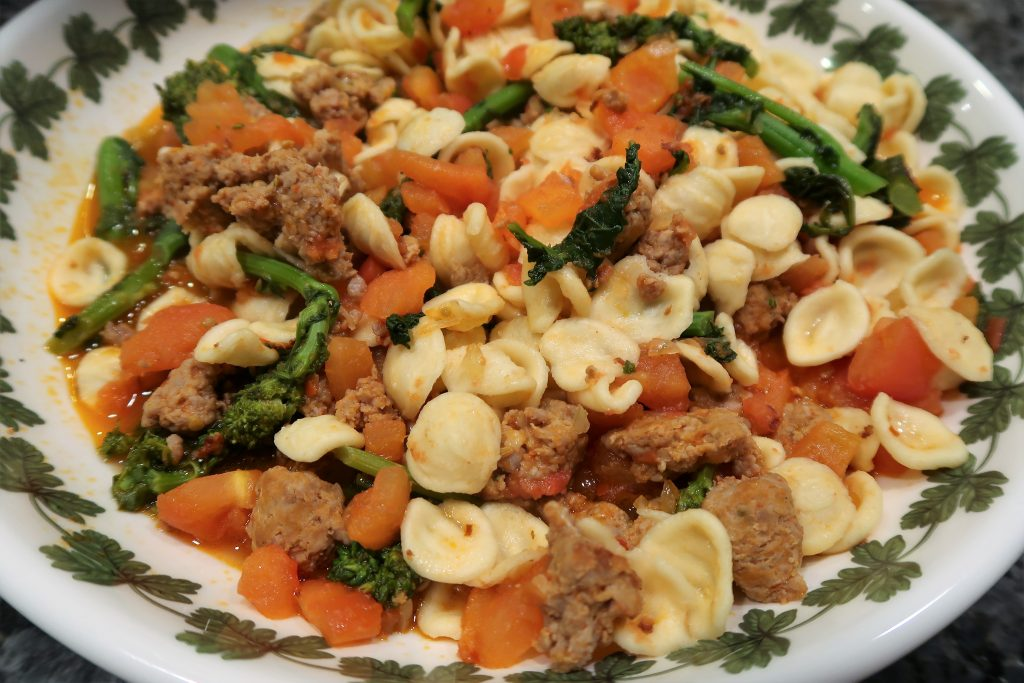 Pasta with Broccoli Rabe and Sausage Recipe | Orsara Recipes