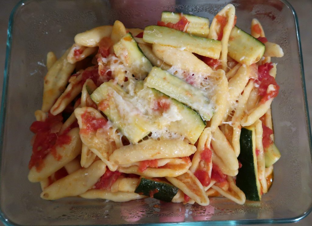 Pasta with Zucchini Recipe