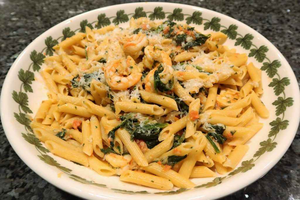 Tuscan-Style Pasta with Shrimp Recipe