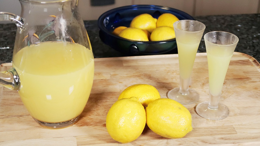 Limoncello Recipe Orsara Recipes