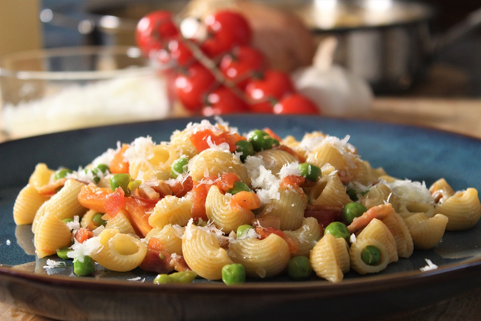 Pasta and Peas Recipe