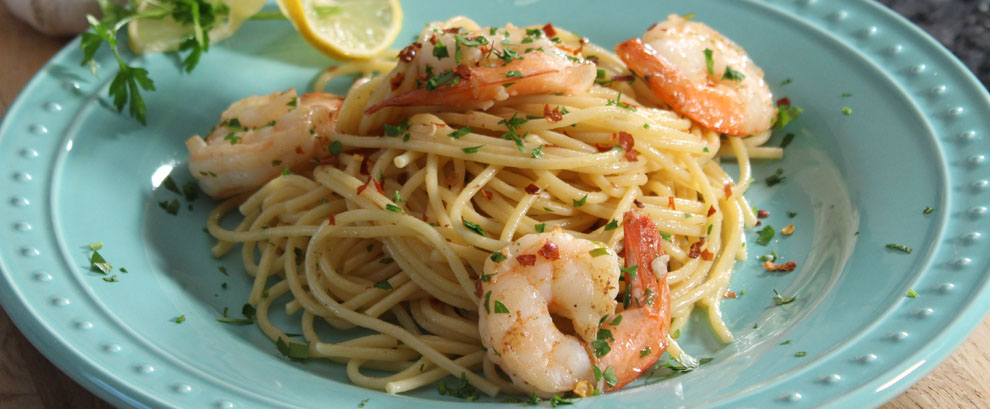 Spaghetti Shrimp Scampi Recipe