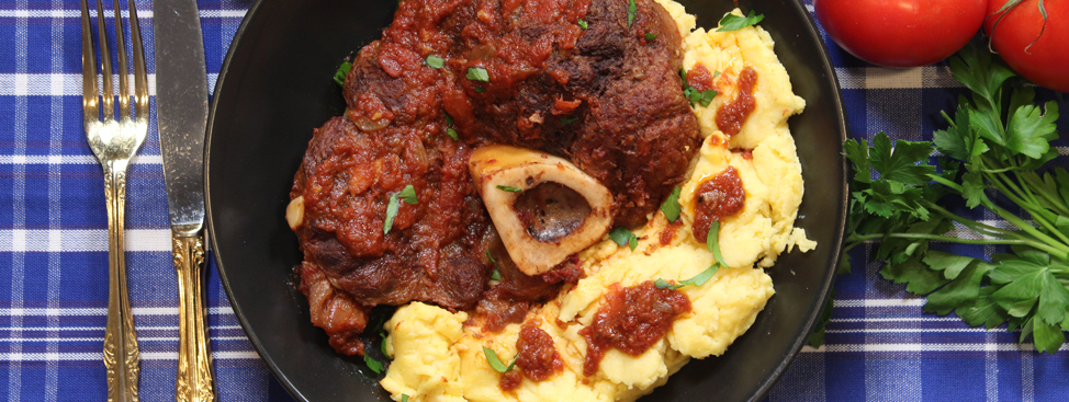 Osso Buco with Polenta Recipe