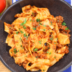 Pappardelle Bolognese recipe