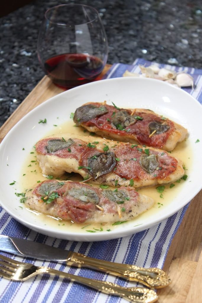 Chicken Saltimbocca Recipe