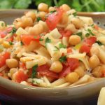 pasta and chickpeas recipe