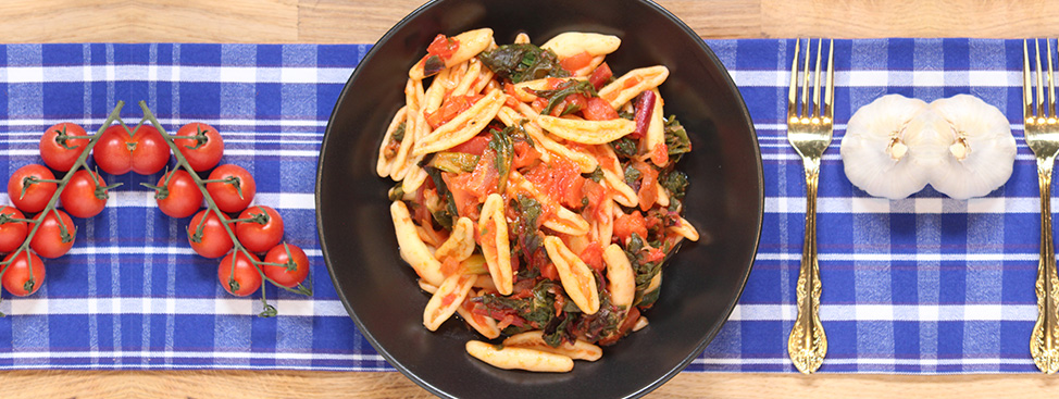 Pasta with Swiss Chard Recipe