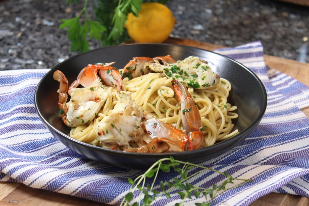 Limoncello Crab Scampi Recipe