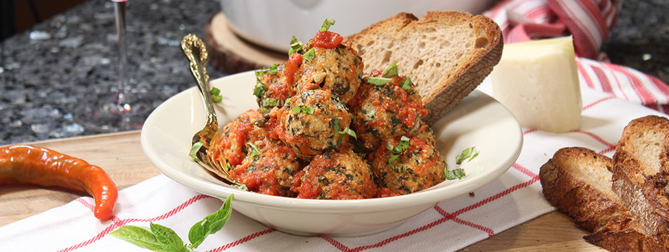Spinach and Ricotta Meatballs Recipe