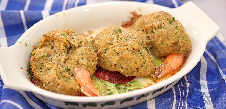 Stuffed Shrimp with Crab Meat
