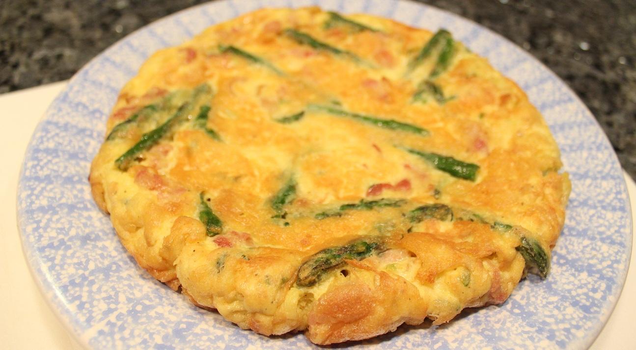 Easter Frittata with Asparagus
