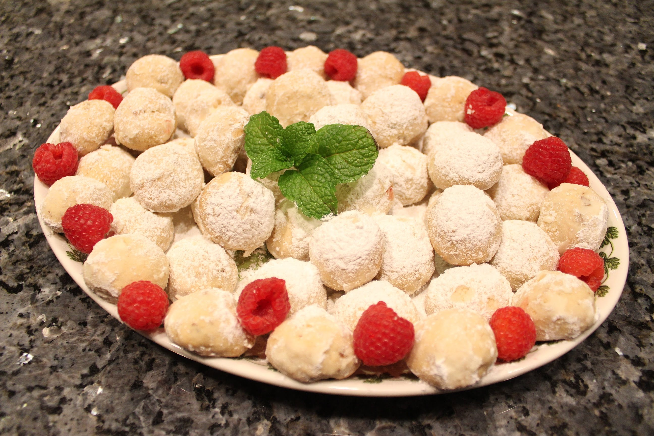 Butter Ball Cookies Recipe