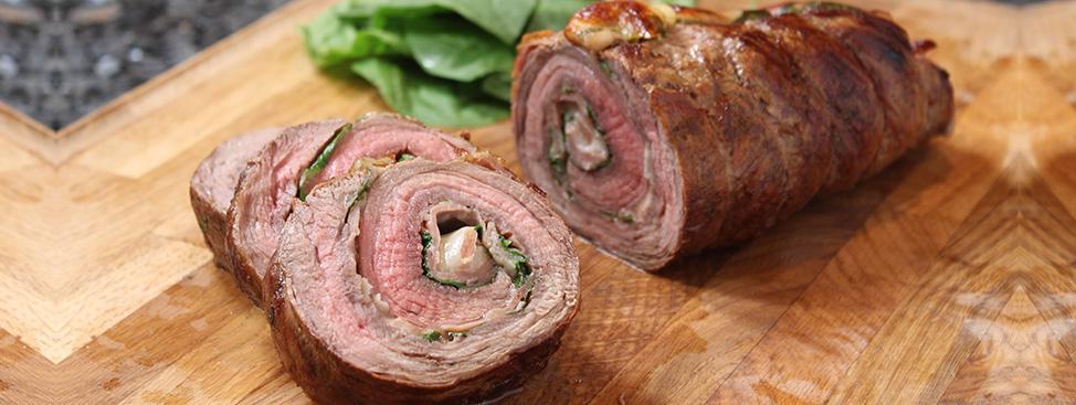 Beef Pinwheels Recipe