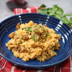 Spicy Sausage Risotto