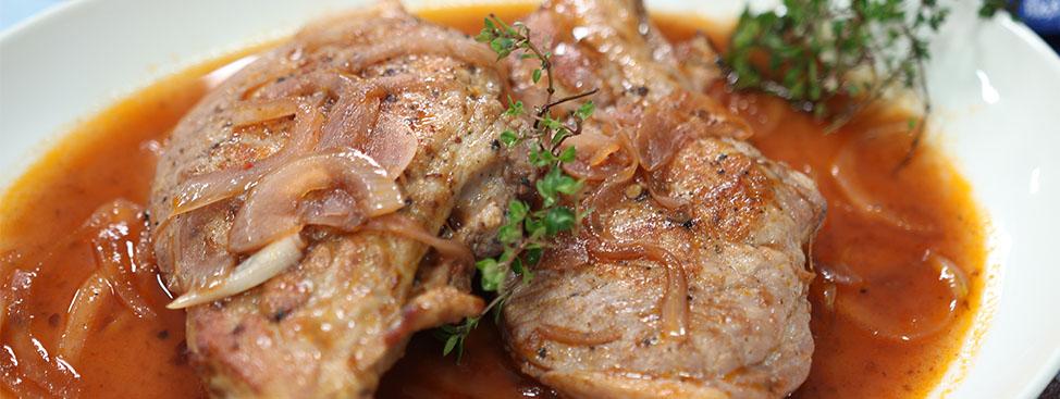 Red Wine Pork Chops