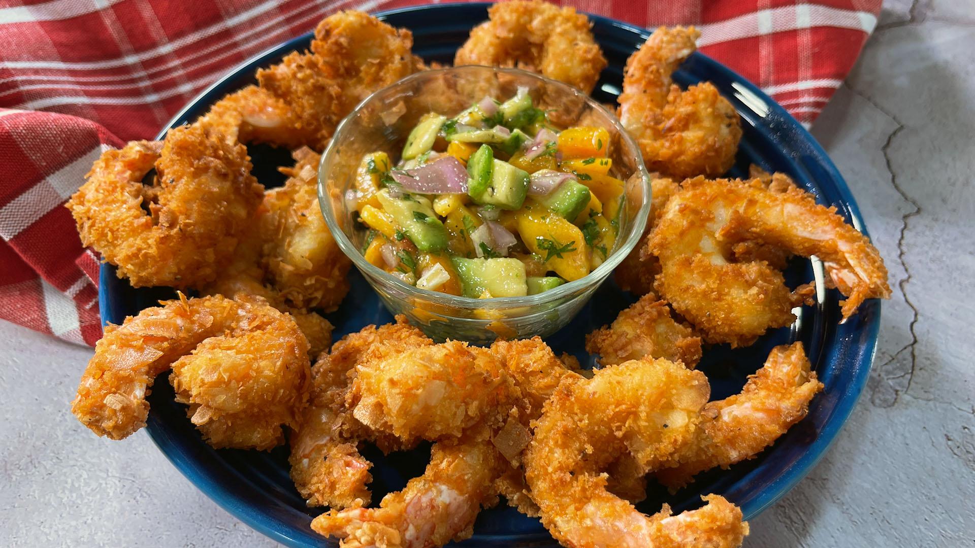 Deep Fried Coconut Shrimp